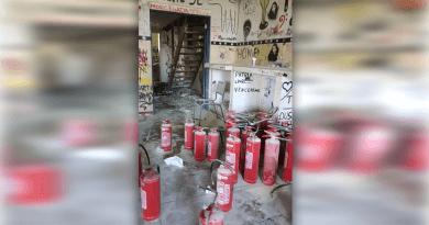 Incêndio em ambiente da UFRRJ causou transtorno no Domingo