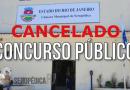 Câmara Municipal cancela concurso publico
