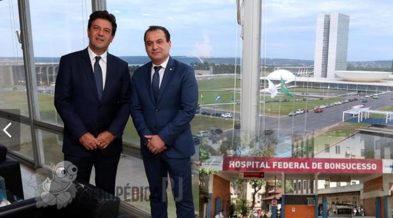 Wilson Beserra pode estar envolvido em indicações de cargos no Hospital de Bonsucesso
